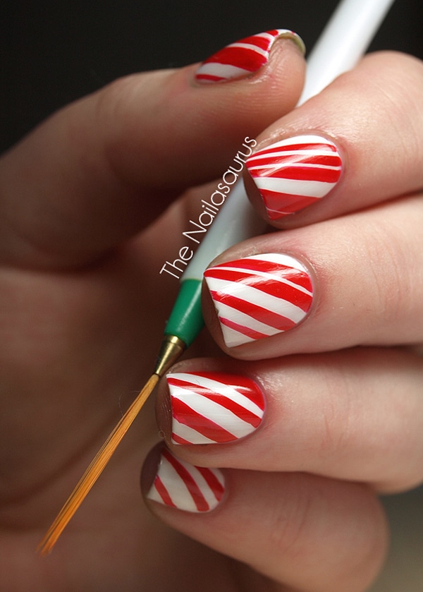 Christmas Nail Polish Manicures