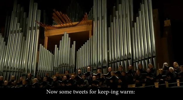 A Twitter Chorus: Calgary Philharmonic Orchestra Sings Tweets