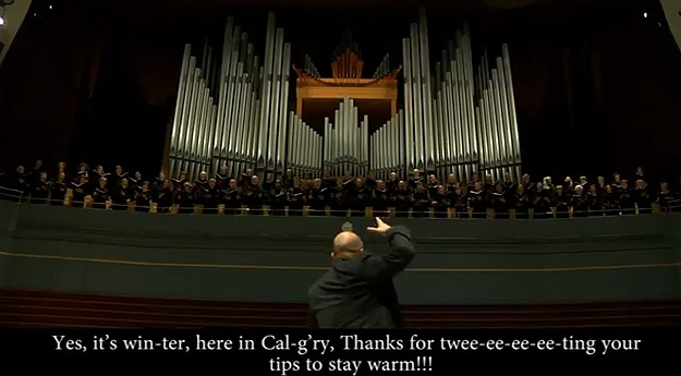 Calvary Choir Twitter Song