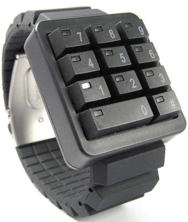 Click Keypad Watch Is Your Geekdom Bundled