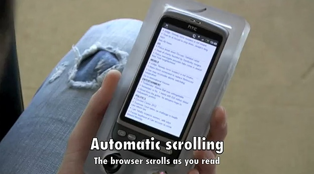 Automatic Android Scrolling With Vision