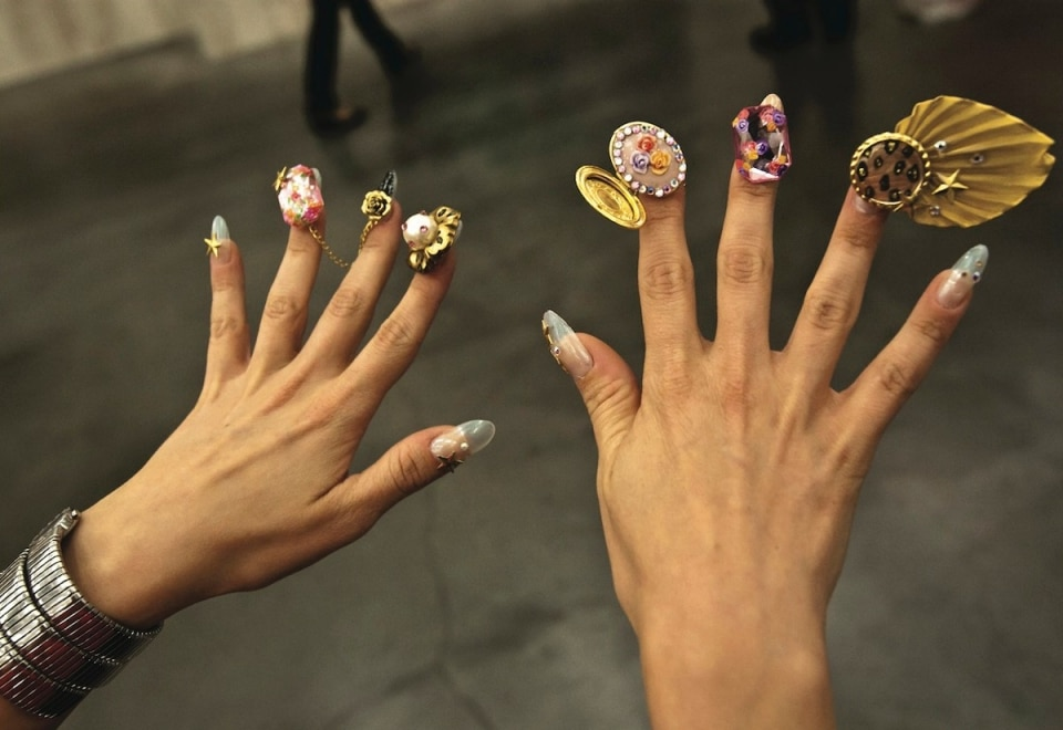 Crazy Creative Nail Art Desing
