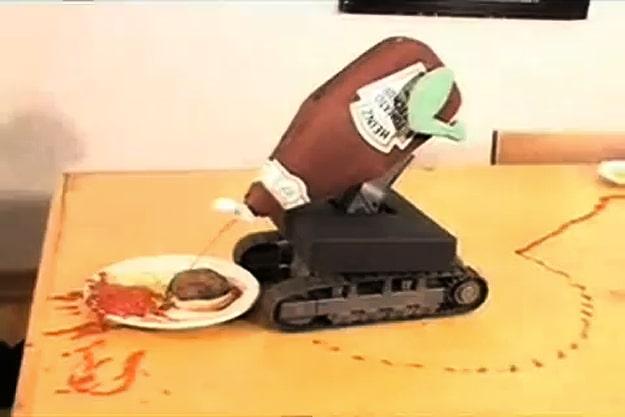 Custom Made Ketchup Bot Concept