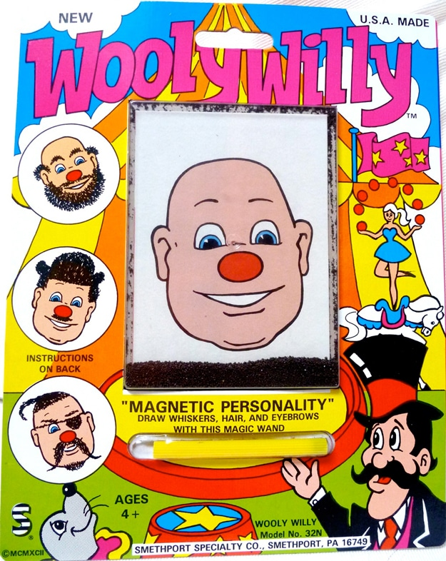 How To Make Wooly Willy