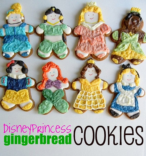 8 Creative DIY Disney Princess Gingerbread Cookies