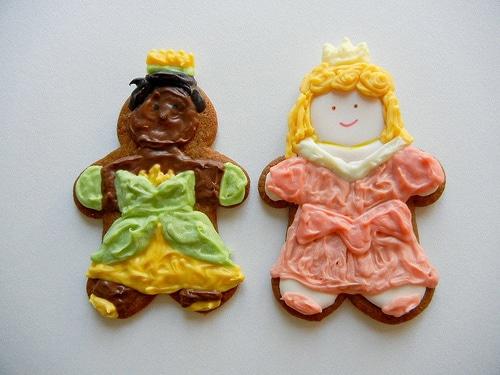Cinderella Snow White Ariel Cookies