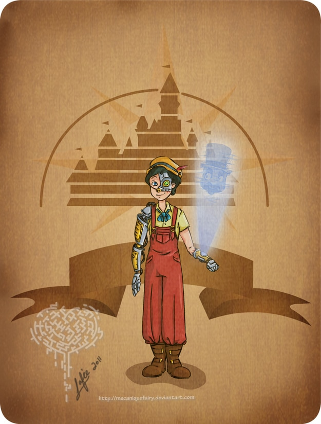 Disney Steampunk Character Cutomization Images