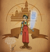 Disney Characters Go Steampunk In This Creative Mashup