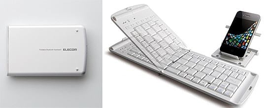 Elecom Bluetooth Folable iPhone Keyboard