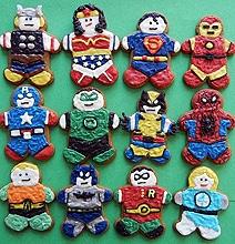 Superhero Gingerbread Cookies To Save Christmas