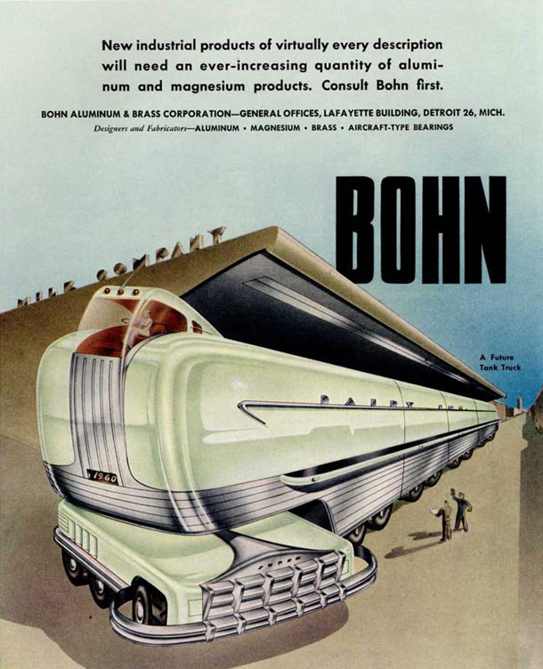 Futuristic Machine Inventions From 1940