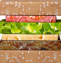 Cheeseburger Couture Gift Wrap: A Delicious Way To Wrap Your Gifts