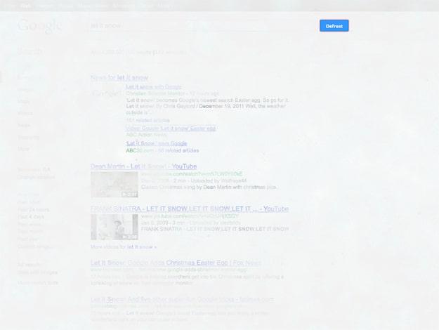 New Google Easter Egg