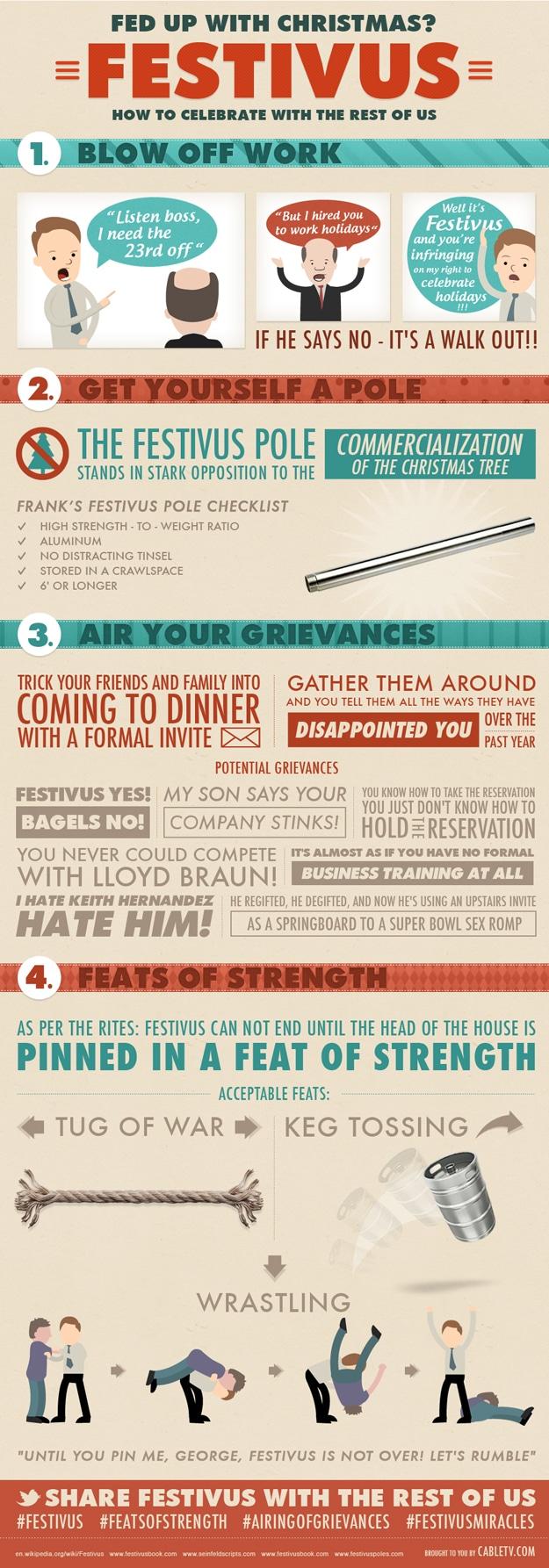 How To Celebrate Festivus