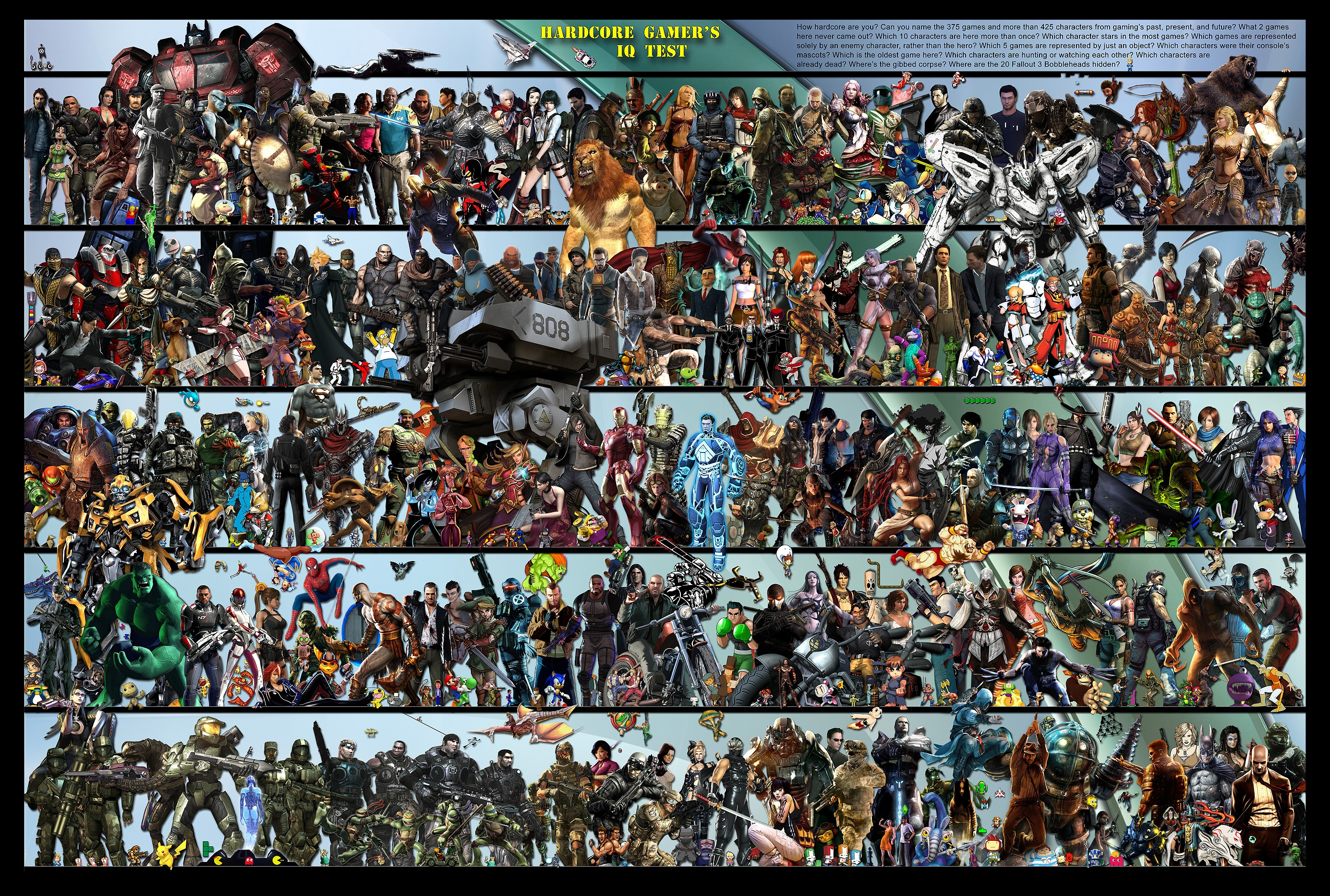 The Ultimate Geek Test: Name the 425 Game Characters