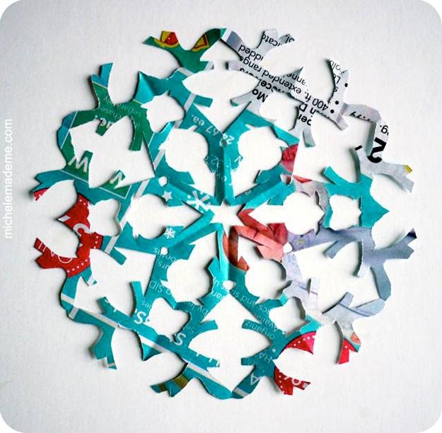 DIY Snowflake Craft Project