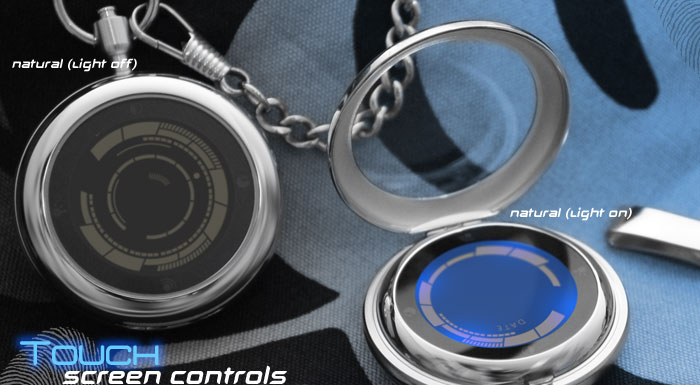 Rogue Touch Pocket Watch Combines Retro With The Future