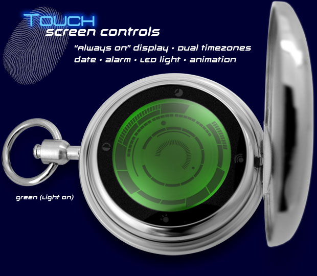 Kisai Rogue Touch Pocket Watch