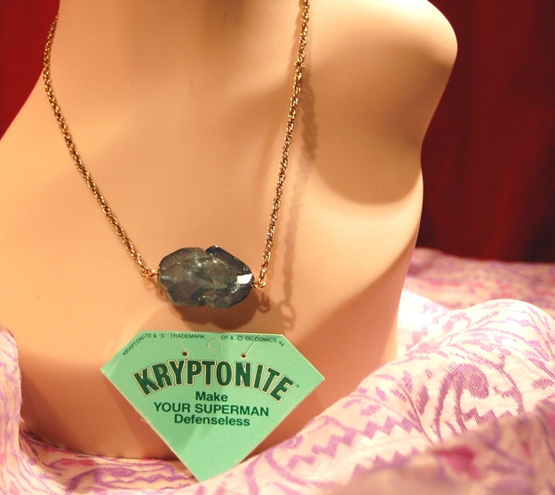 the kryptonite necklace make your superman defenseless