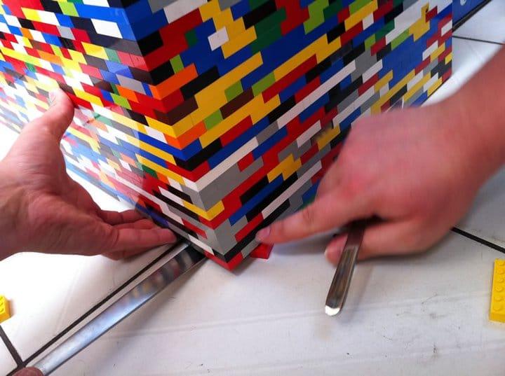 Lego Kitchen Divider Wall Build