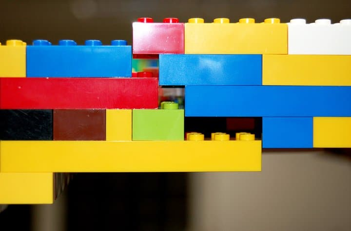 Lego Kitchen Divider Wall Build