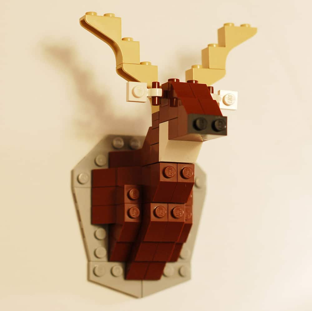 Lego Taxidermy Micro Build Creations