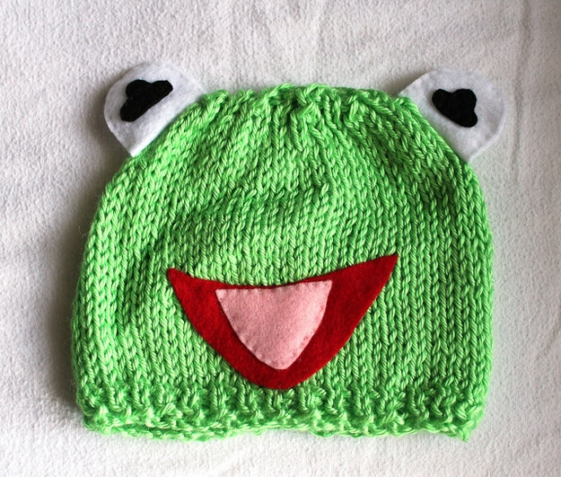 Kermit The Frog Craft Hat