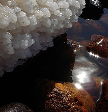 Spectacular Sea Salt Formations From The Lowest Place On Earth
