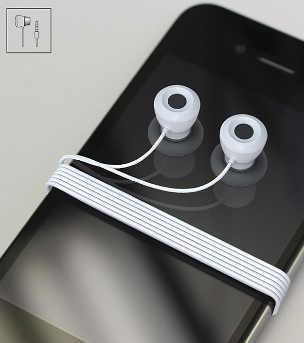 Ear Bud Tangled Cord Solution