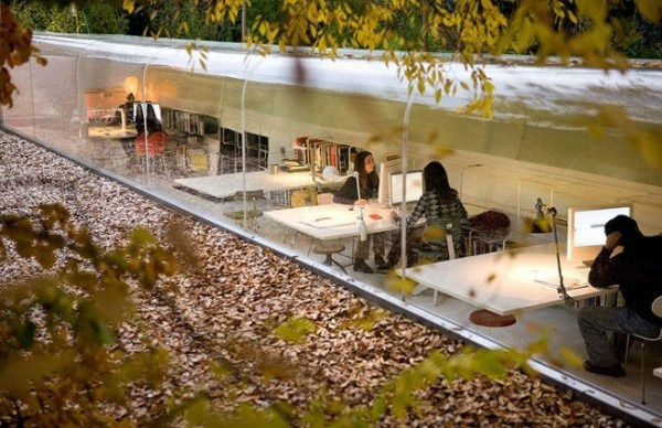 Inspiring Office Outdoors In Trees