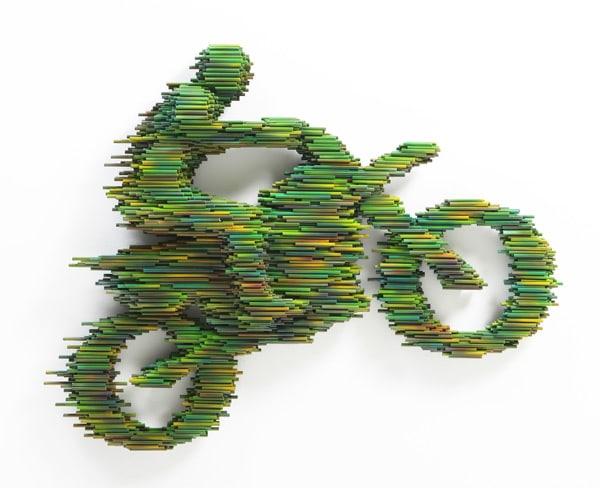 PVC Pipe Speed Sculpture Design