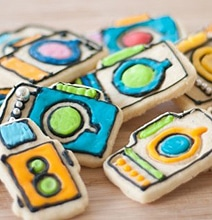 Creative Camera Cookie Cutters: For The Photographer In Your Life
