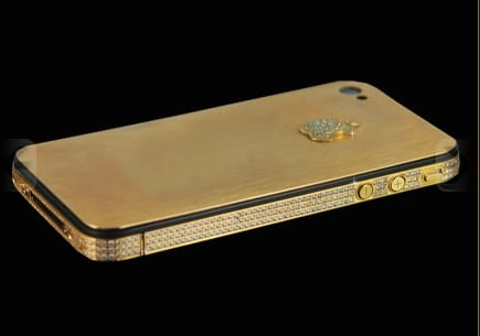 Pimped Diamond Encrusted iPhone 4S