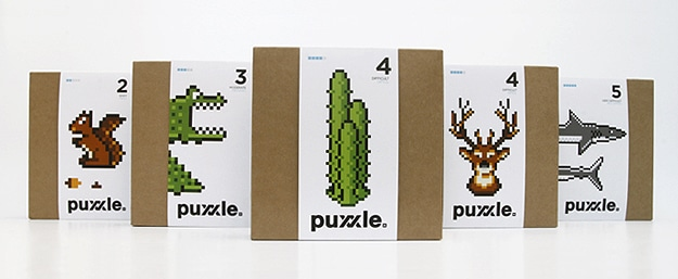 Puxxle: The Pixel Puzzle Perfect For Designers
