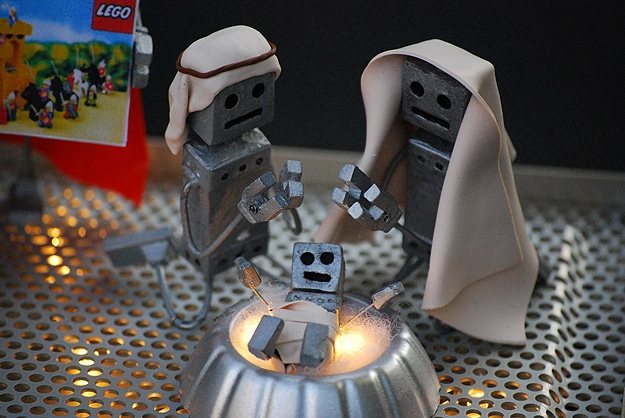 Droid Creative Christmas Scene