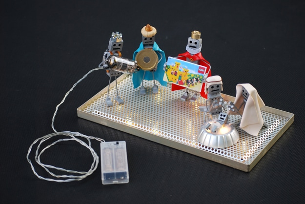 Droid To The World A Creative Robot Nativity Scene Bit