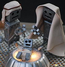 Droid To The World: A Creative Robot Nativity Scene