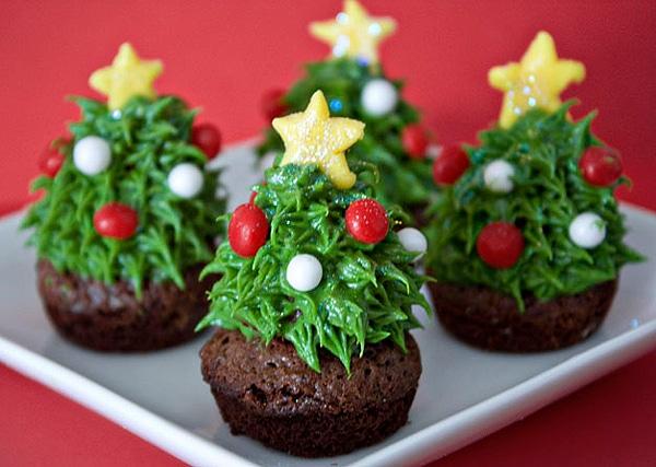 Festive Holiday Chocolate Brownies
