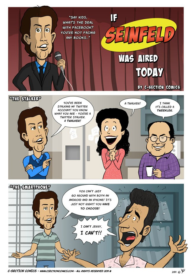 If Seinfeld Would Have Had Access To Social Media [Comics]