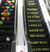 A Real Star Wars Escalator: The Only Way To Ride Like A Geek