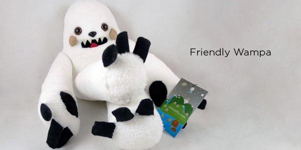 Wampa Fuzzy Plush Toy