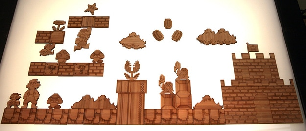 Super Mario Magnets: Create Your Own Levels On Your Frig