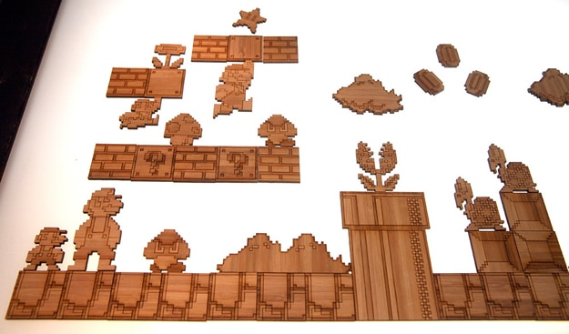 Create A Super Mario Castle