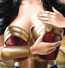 Women Superheroes: Creative Breast Exam PSA Illustrations