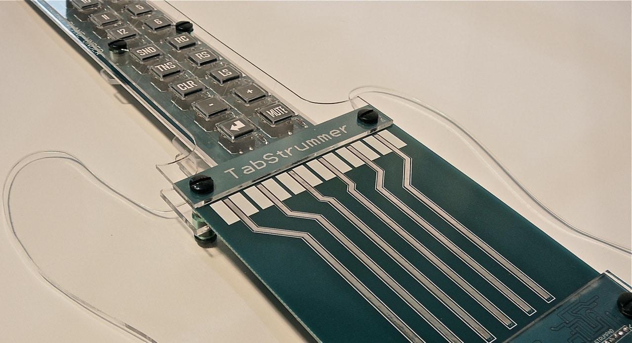 TabStrummer Hybrid Guitar Concept Technology