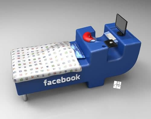 The Facebook Bed: If You Struggle Trading Networking For Sleep