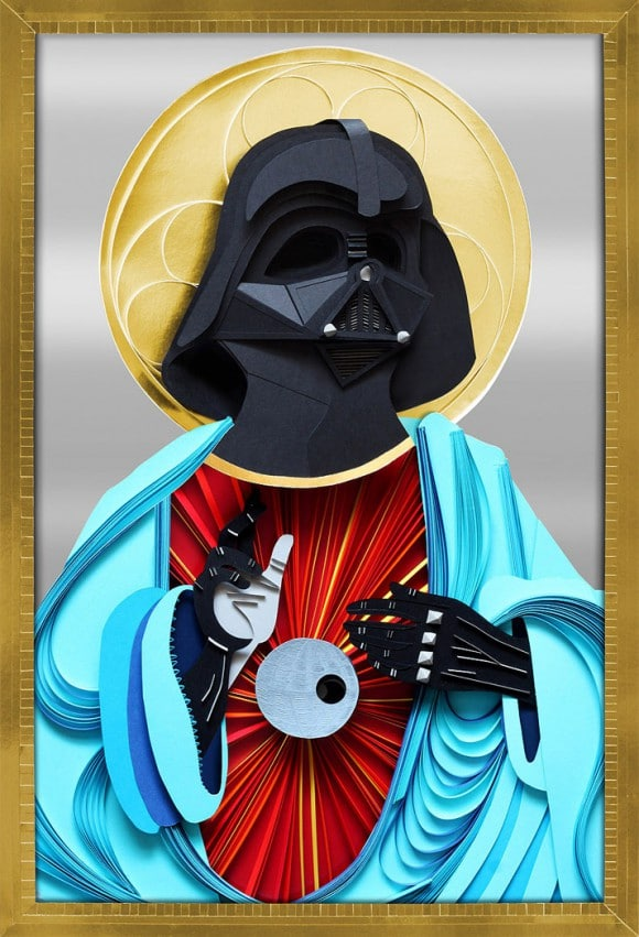Papercraft Darth Vader Is A Holy Creation