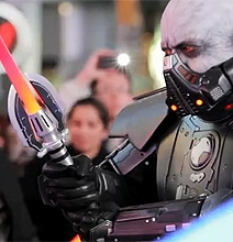 The Frozen Star Wars Flash Mob In Times Square