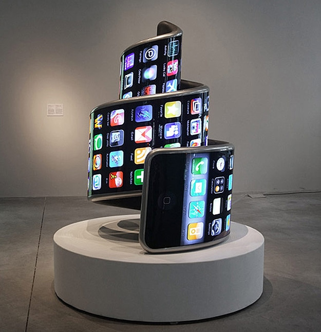 Twisted Technology: Deformed iPhone Looks Like A Spiraling Tower