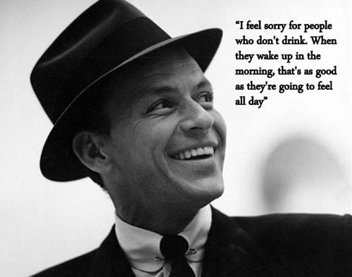 Frank Sinatra Drinks Alcohol